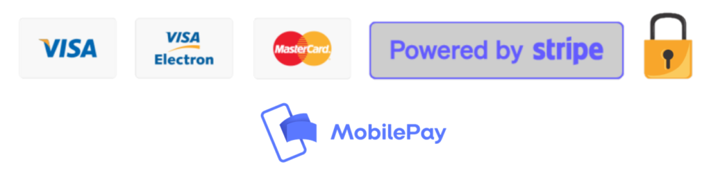 Powered by Stripe m mobilepay