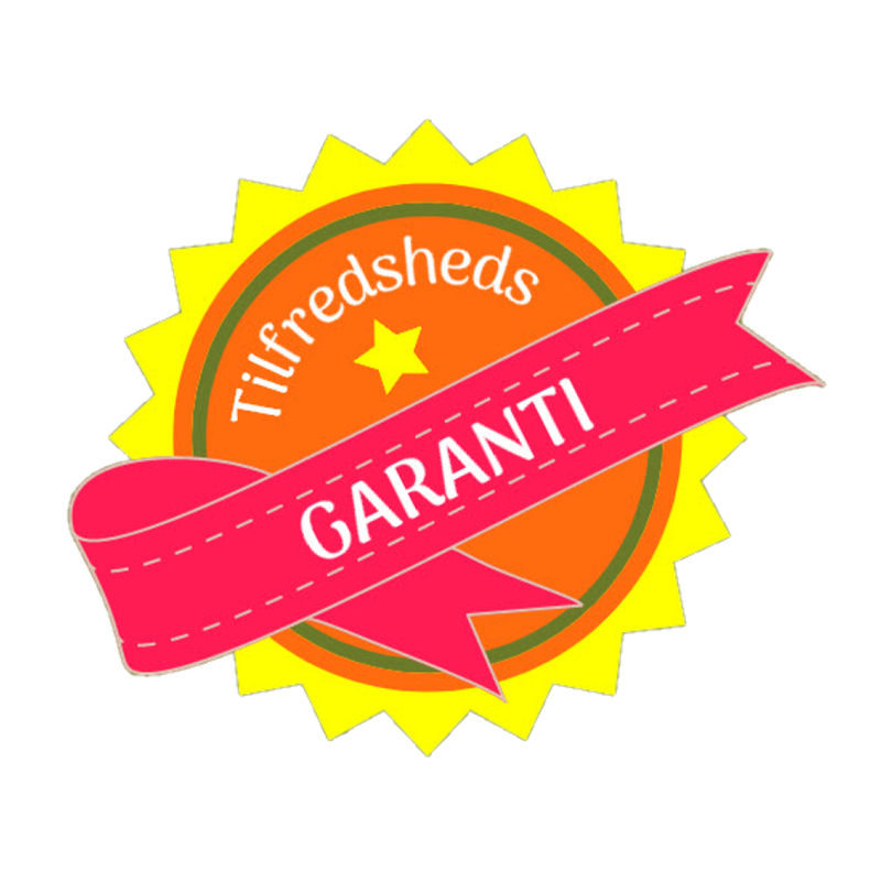 Tilfredshedsgaranti badge