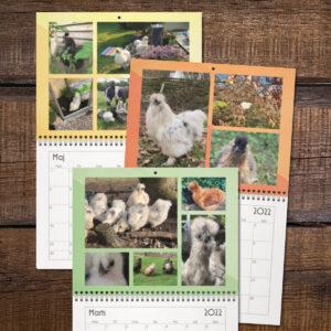 Silkehavens silkehønse kalender 2022