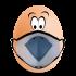 æg med mundbind